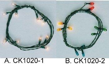 12 Bulb 12V Xmas Strings 0 00 Cir Kit Concepts Inc