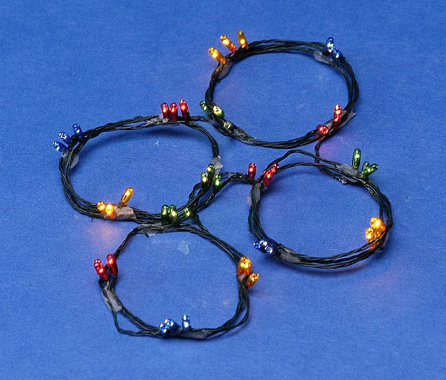 ck1020 12 12v 48 bulb colored xmas strings - Bulb Christmas Lights